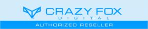 crazy fox digital authorized reseller badge
